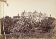 a mosque at Dacca (Dhaka) taken in the 1880s